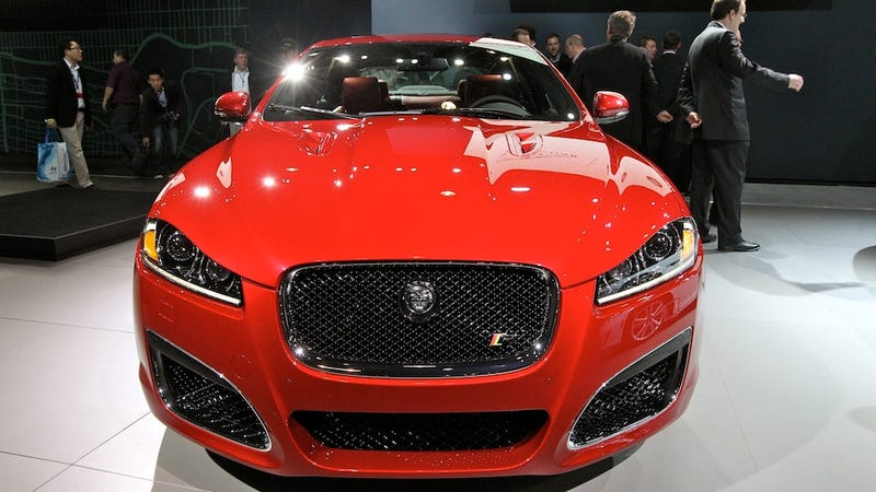 2012 Jaguar XF-R takes its nose job public
