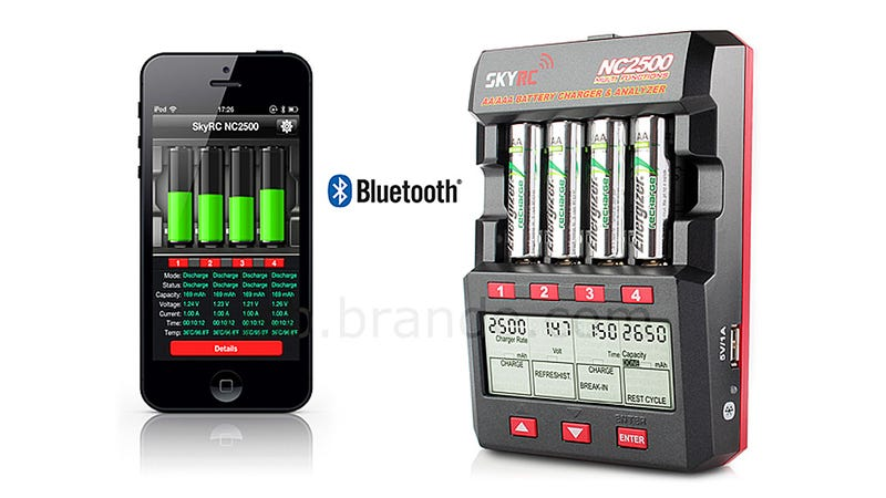 A Battery Charger That Reports Back To Your iPhone