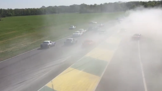 Watch A Field Of Spec Miatas Kick Up A Sandstorm Made Of Oil Dry