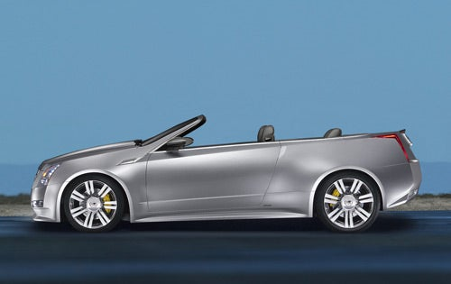 Cadillac CTS Coupe Convertible We Never Knew Will Never See Light Of Day