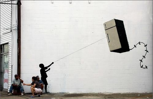 Banksy Does New Orleans