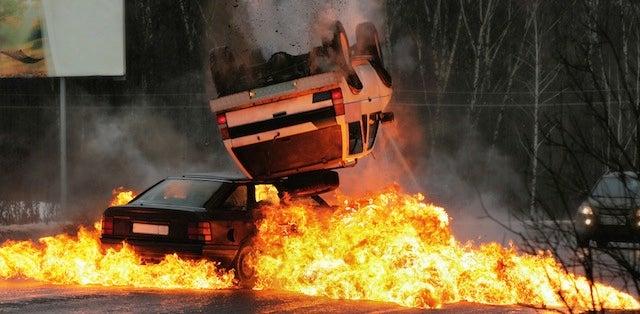 FACT: Race Car Backwards Is a Safety Hazard