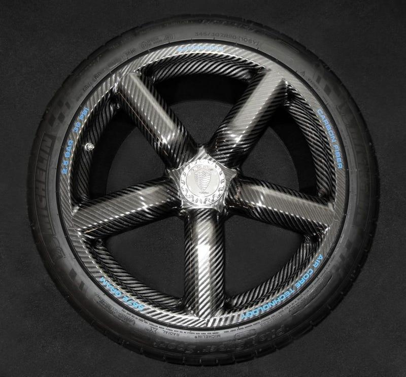 How light are the Koenigsegg Carbon Fiber Wheels?