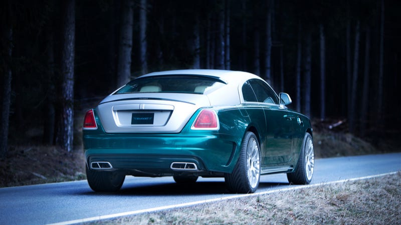 The New Rolls-Royce Wraith By Mansory Could Have Been Much Worse