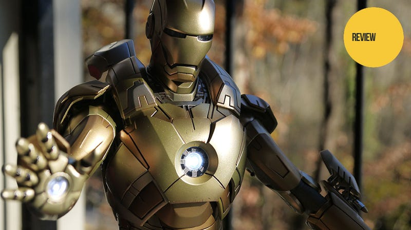 An Iron Man Figure Worth Its Weight In Gold