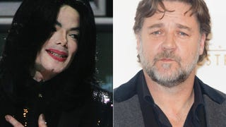 Michael Jackson Used to Anger Russell Crowe with Prank Phone Calls