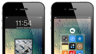 The Dewdrop Homescreen + Lockscreen (iOS 640 x 960)