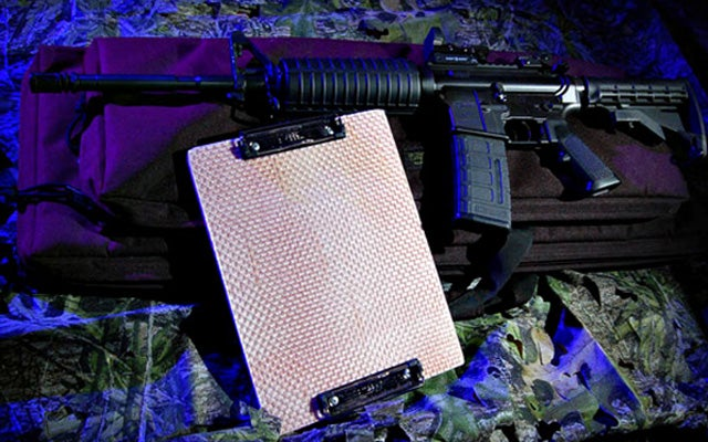The Bulletproof Clipboard: For When Secret Santa Goes Very, Very Wrong