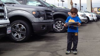 Dad Uses Dealership Trips As Reward To Foster Son's Love Of Cars
