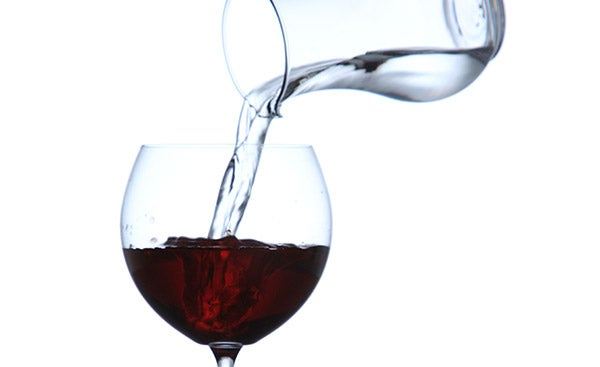 How Water Can Actually Enhance Alcohol's Flavor