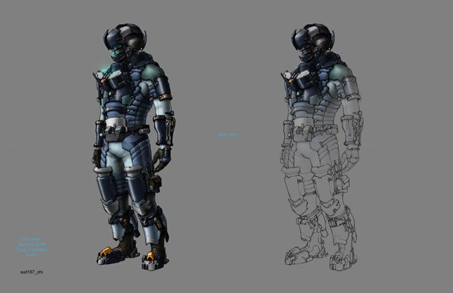 Don't look at this Dead Space 2 concept art unless you've got a strong stomach