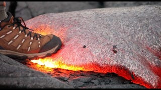 What Happens When You Step On Molten Lava? This Video May Surprise You