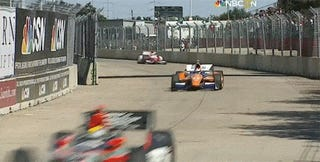 Dario Franchitti Not Seriously Hurt After Big Crash In Houston [UPDATE]