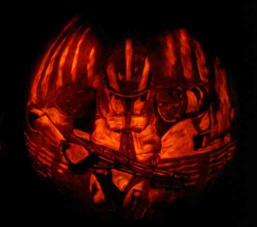 Incredible but Real: Science Fiction and Fantasy Pumpkin Carvings!