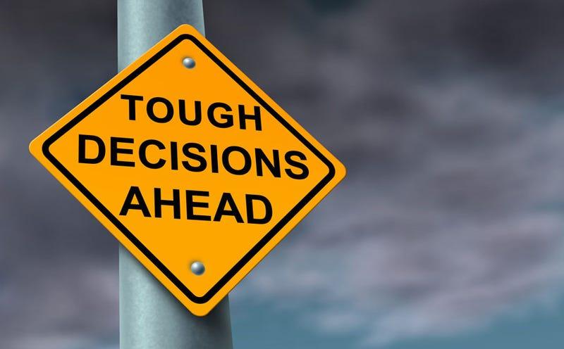 Decisions, decisions, decisions....