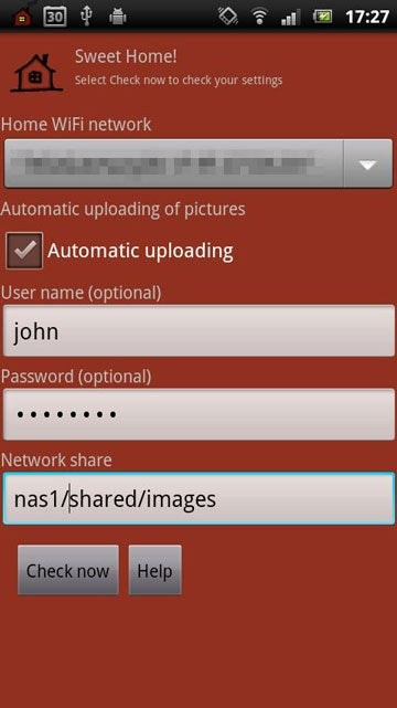 Sweet Home! Auto-Uploads Photos and Videos from Android to Your Network
