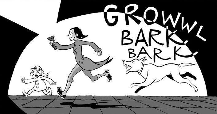 The Webcomic Adventures Of A Victorian Girl Detective Who Sees Ghosts