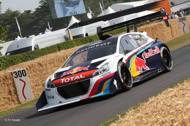 Sebastian Loeb Takes Aim at Goodwood Hillclimb Record