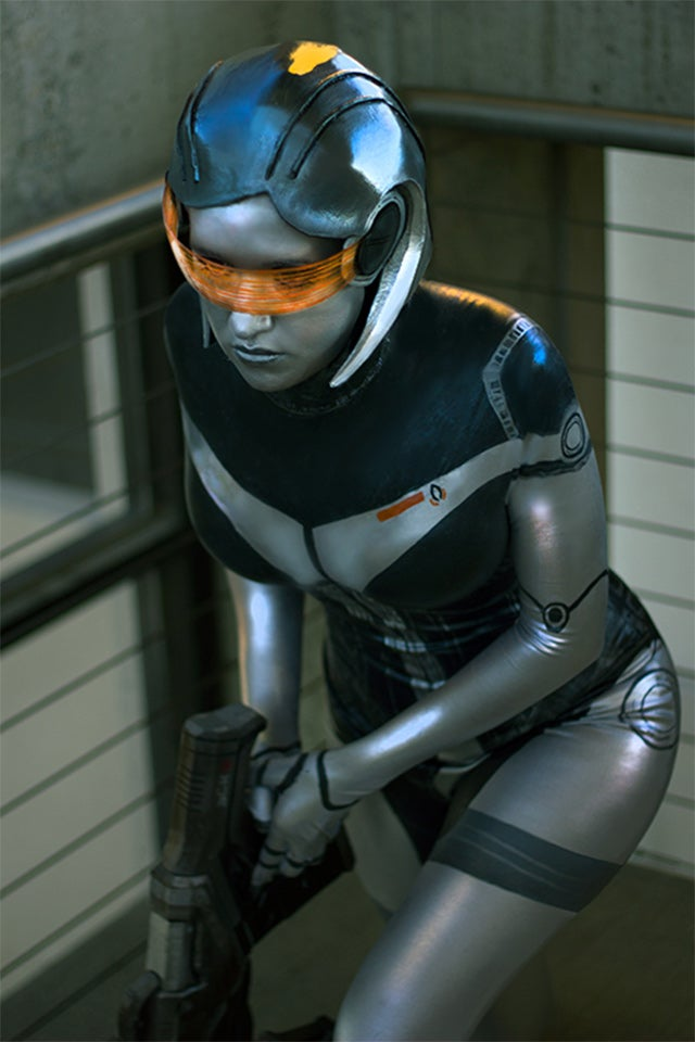 Cosplaying As Shepard Is Easy. Try EDI Instead.