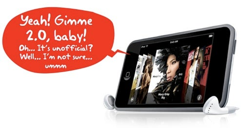iPod Touch 2.0 Firmware Leaked
