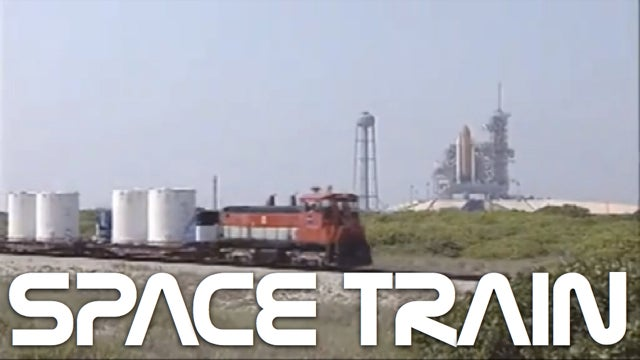 NASA's Space Shuttle Train Is Basically a Giant, Moving Bomb...