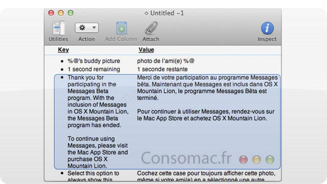 Only OS X Mountain Lion Will Have the New Messages App