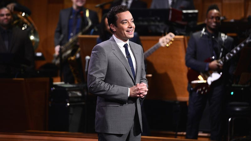 "Jimmy Fallon ""Talks"" Less Than Any of the Other People Who ""Talk"""