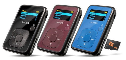 SanDisk Sansa Clip+ MP3 Player Keeps the Bizarre slotRadio Dream Alive