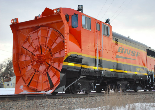 Here is the biggest goddamn snow blower you've ever seen