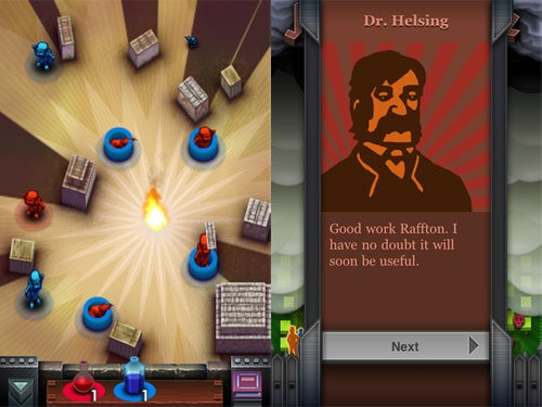 Helsing's Fire For iPhone: The Best Sassy Victorian Puzzler In the App Store