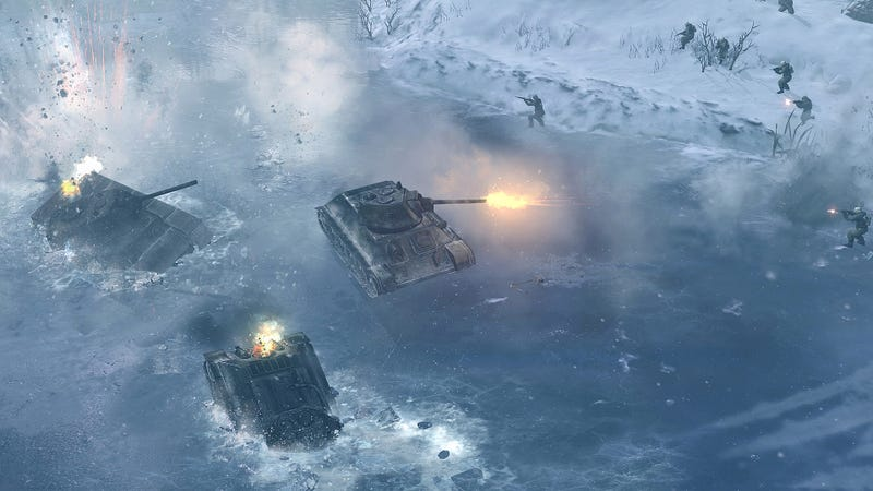 Cold is the Deadliest Weapon in Company of Heroes 2