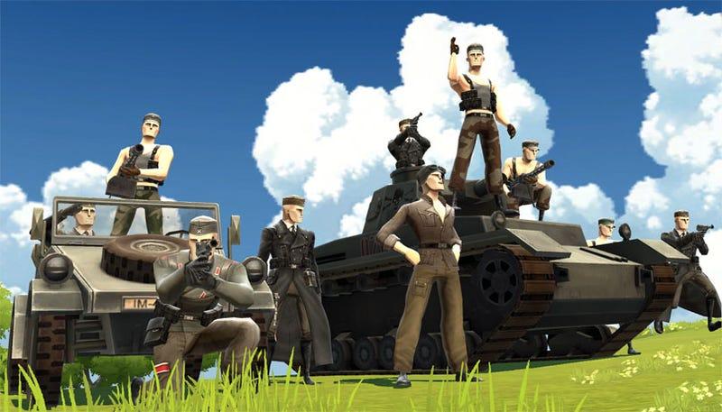 Battlefield Heroes Beta Is Back On The Menu, Boys
