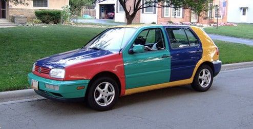 The Ten Worst Production Car Color Combinations