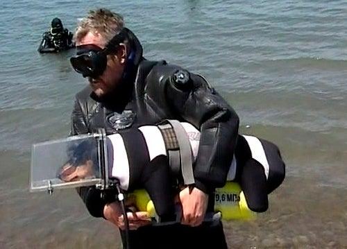 Meet Boniface, the Amazing Scuba Diving Dog