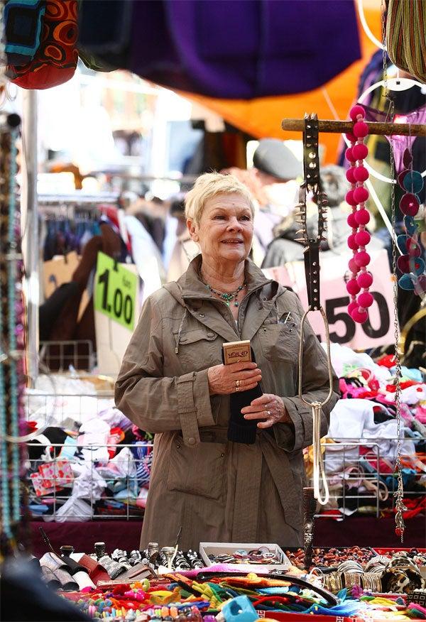 Judi Dench, Accessory To A Fashion Crime