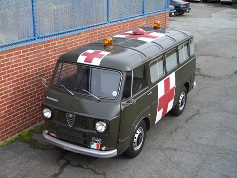 1968 Alfa Romeo Ambulance at Fantasy Junction