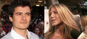 Orlando Bloom & Jennifer Aniston: WTF???