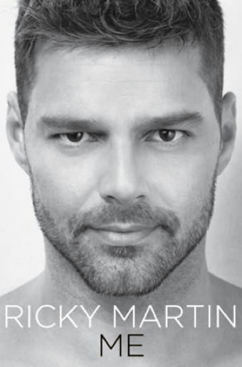 Ricky Martin's Book Cover Is Pretty as a Picture