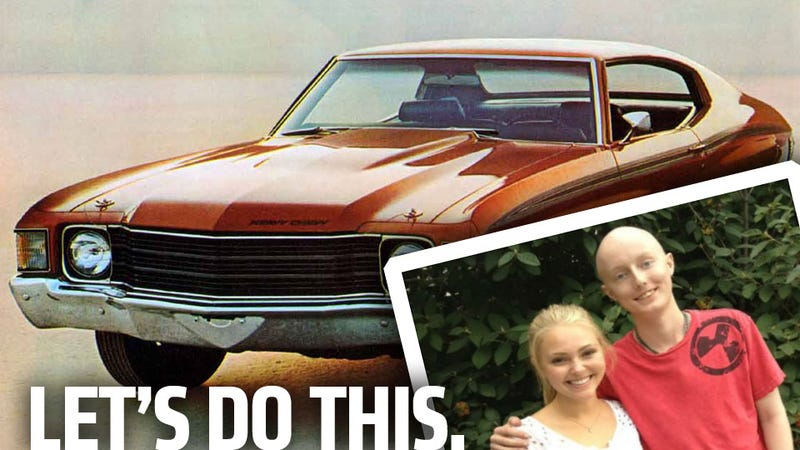 Let's Find This Dying Teen a '72 Chevelle