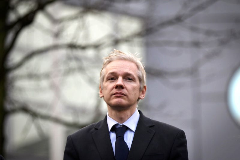 Julian Assange Is a Skipping Little Nancy Boy