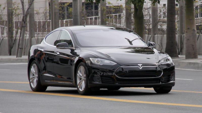 Los Angeles Is About To Get A Tesla Model S Taxi
