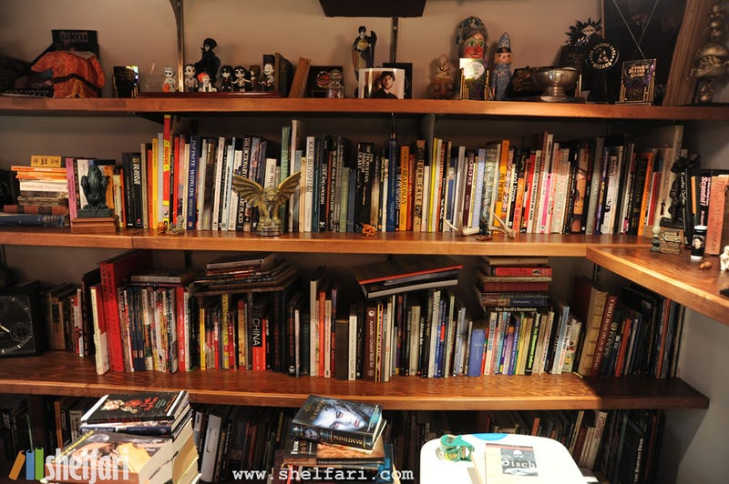 Take a Peek Inside Neil Gaiman's Library