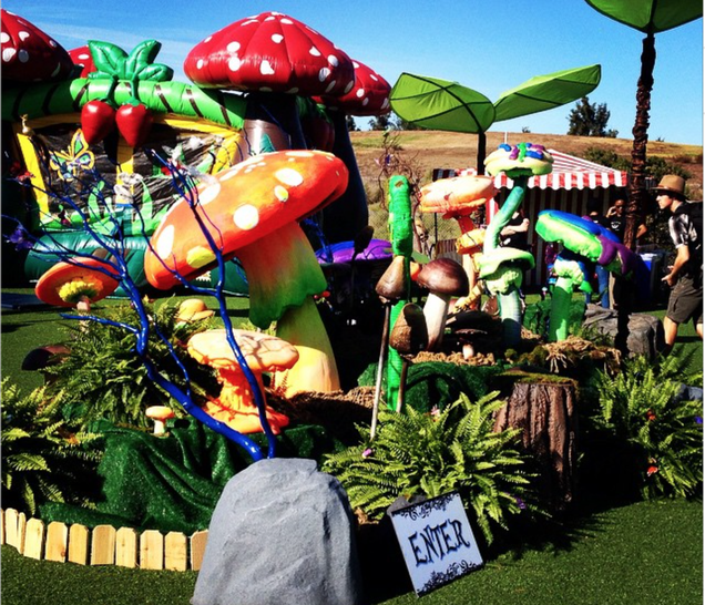 Halloween in Silicon Valley, Featuring Bouncy Houses and Beer Pong