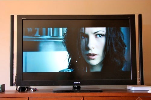 Non Review: I Love You, Sony XBR8 Triluminos LED LCD HDTV