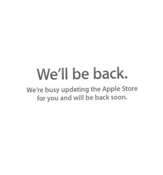 The Apple Store Is Down WHAT COULD IT MEAN EVERYBODY FREAK OUT