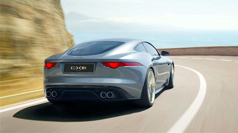 Jaguar C-X16: I want to pet this pussy