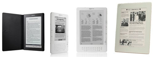 Wireless Ebook Readers: Which One'll Burn Down the Bookstore?