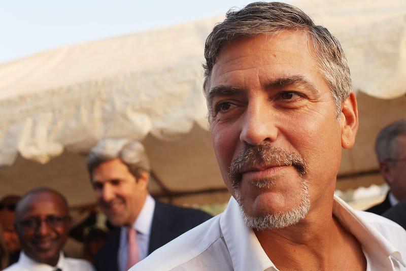 George Clooney Has Malaria