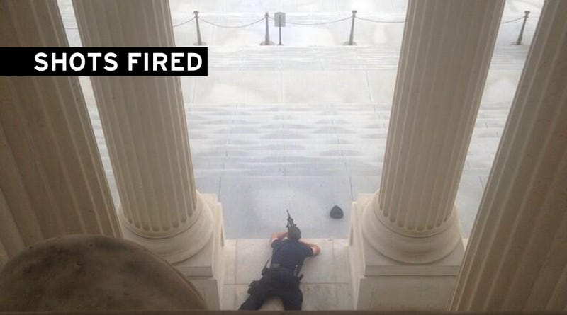 Suspect Killed at U.S. Capitol After Car Chase From White House