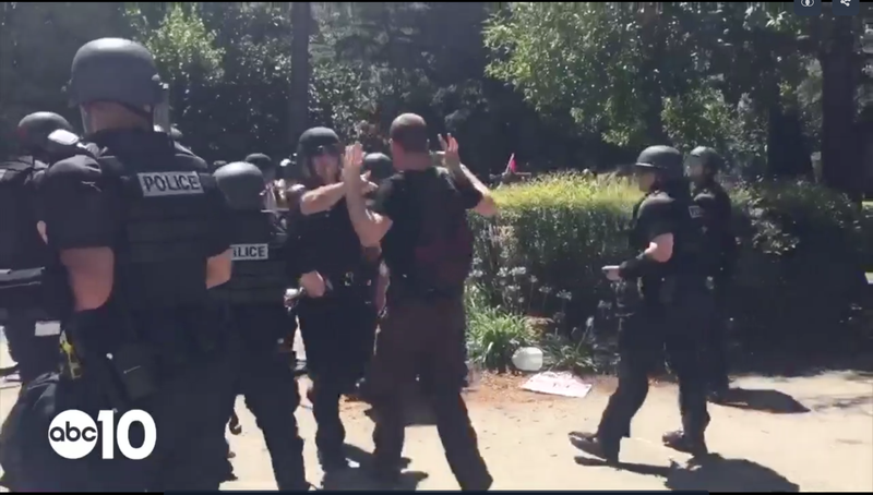Multiple Stabbings Reported in Clashes Between White Supremacists and Anarchists in Sacramento